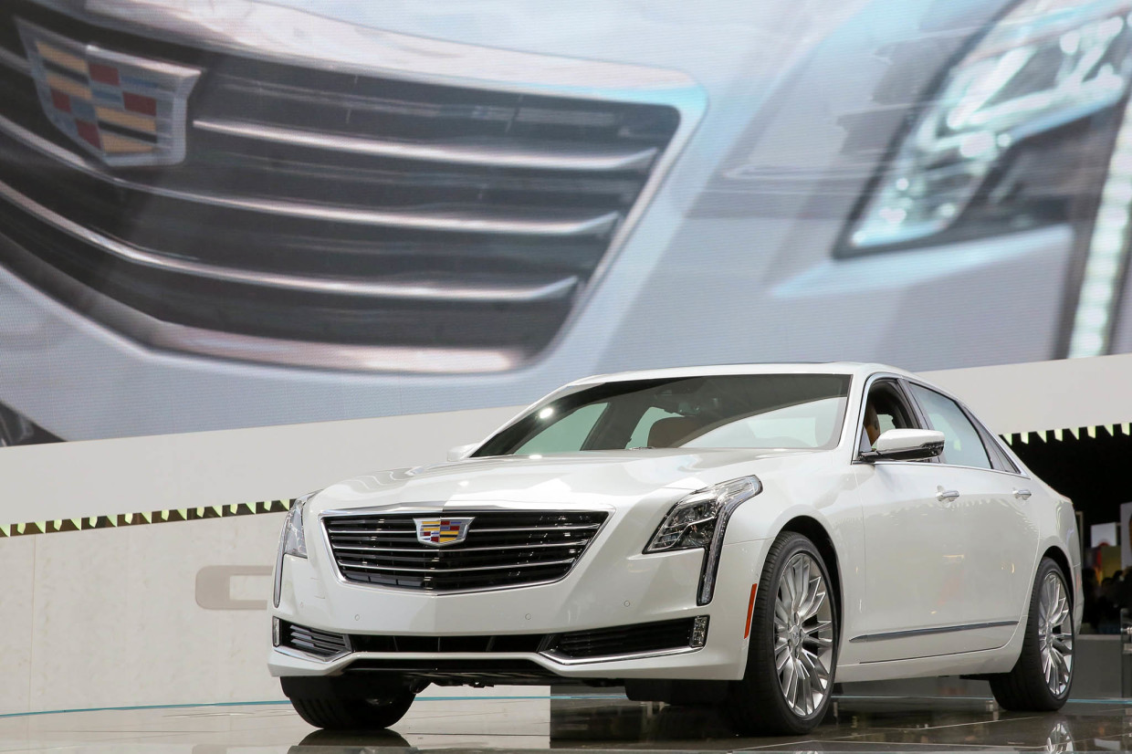 The 2016 Cadillac CT6 Introduced At New York International Auto