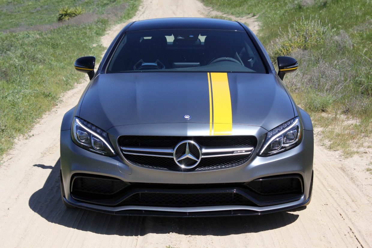Mercedes AMG C63 S Front View