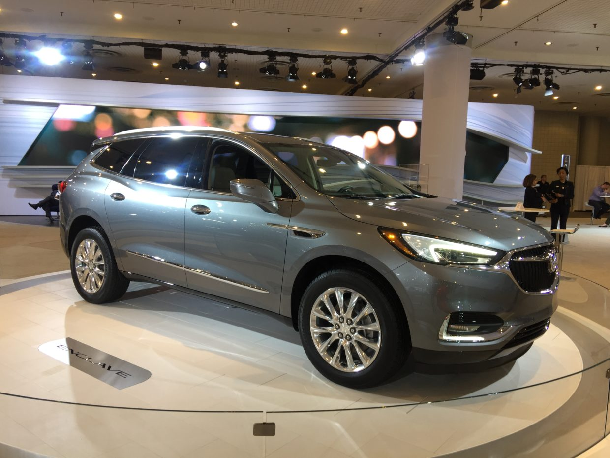 2017 Buick Enclave NYIAS